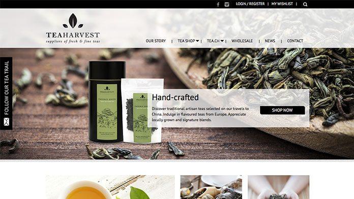Tea-Harvest | Web Design Noosa