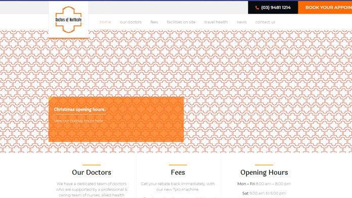 doctorsofnorthcote   Wordpress Developer Sunshine Coast
