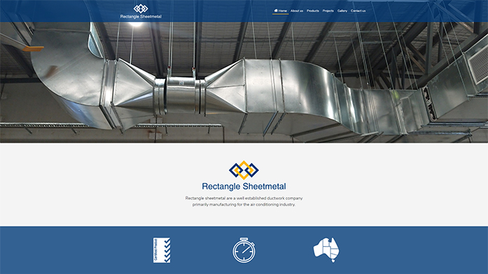 rectanglesheetmetal | Responsive Website Sunshine Coast