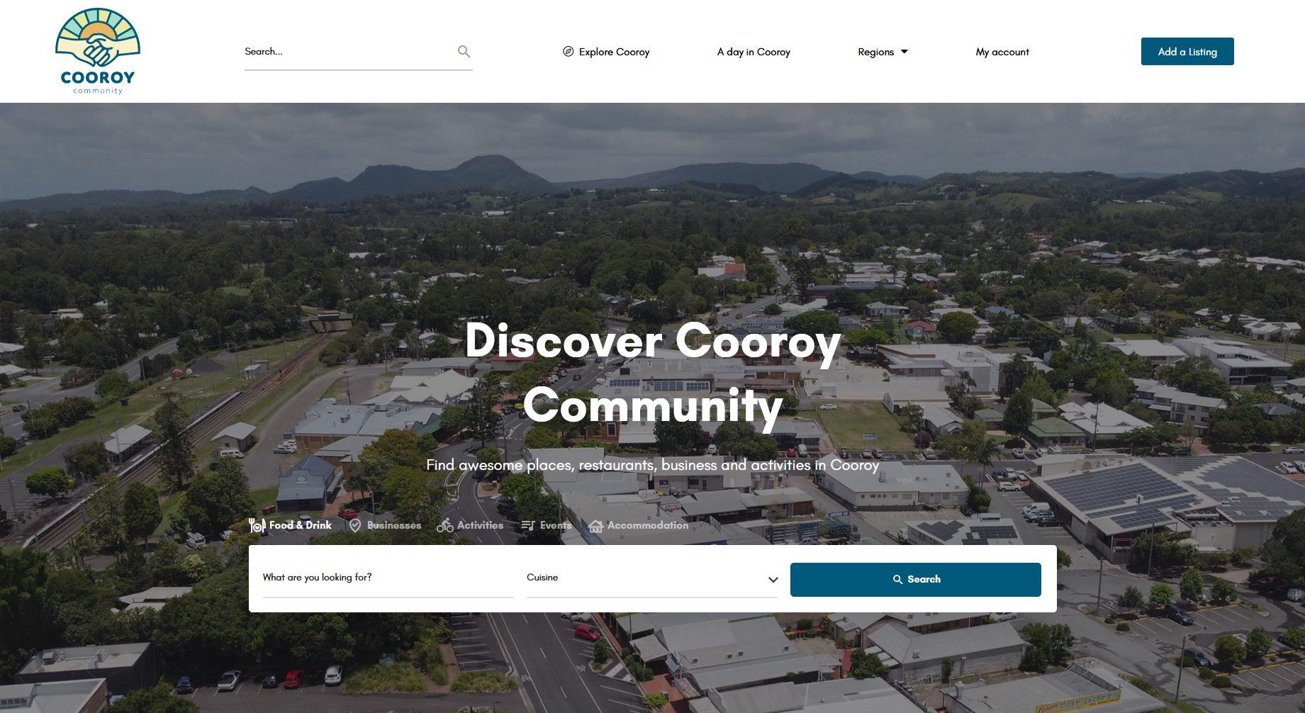 cooroy   Website Design Sunshine Coast