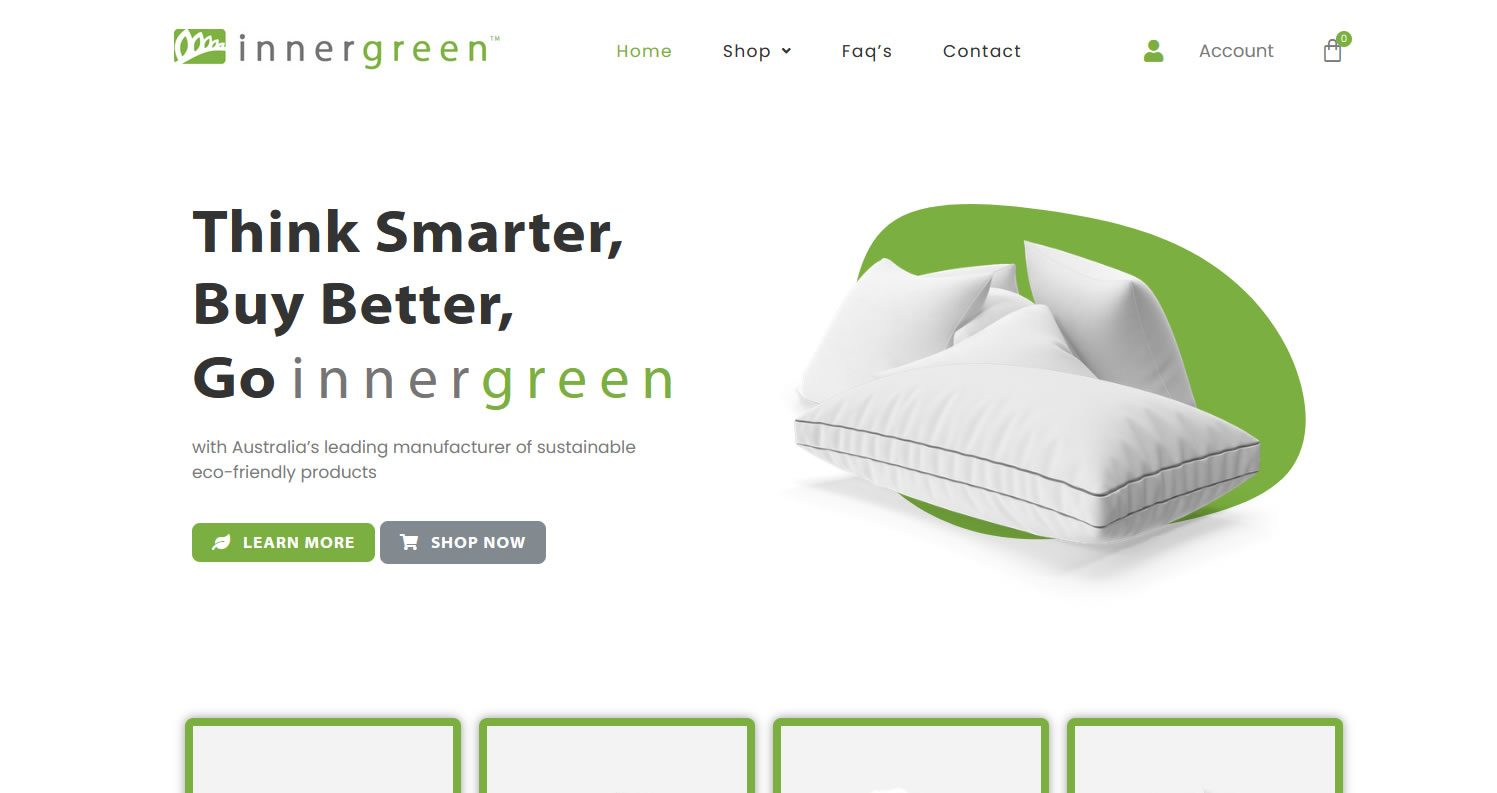 innergreen   Bonsai Media web design noosa